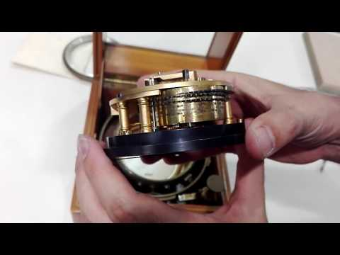 Working Vintage Thomas Mercer Marine Chronometer - Year 1957
