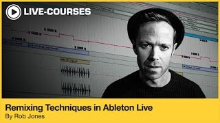 Tips for Creating House Remix Beats - Sample Tutorial From Ableton Course
