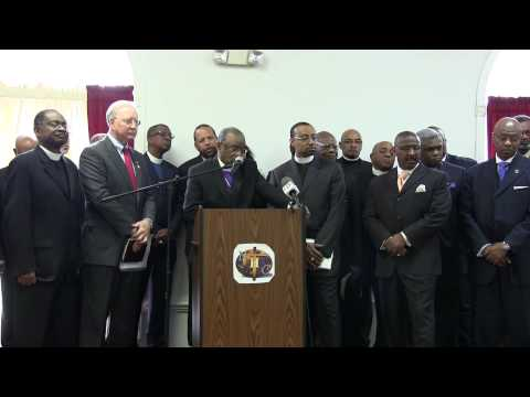 Tidewater Press Conference - Pastors FOR Marriage Amendment