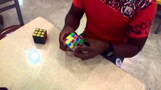 Franklin solucionando el cubo de rubik en 29 seg - Rubik Sucre - Venezuela