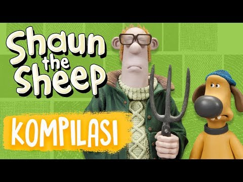 Shaun the Sheep | Full Episodes Compilation 17-20 | Season 5 | Funny Cartoons For Kids