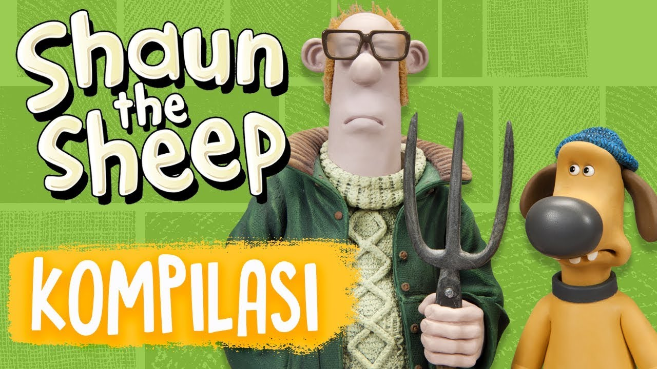 Shaun the Sheep   Full Episodes Compilation 17-20   Season 5   Funny Cartoons For Kids