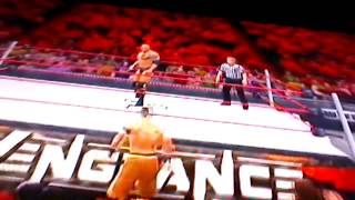 WWE 13 John Cena vs. The Rock (Infinite Finishers)