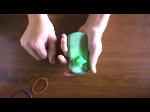 how to put your phone in a balloon