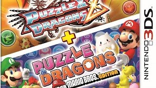 CGR Undertow - PUZZLE & DRAGONS Z AND SUPER MARIO BROS. EDITION review for Nintendo 3DS