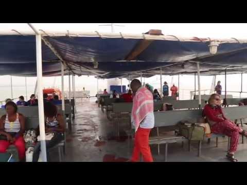 Guinée Bissau Ferry vers l'archipel des Bijagos / Guinea Bissau Ferry to Bissagos archipelago