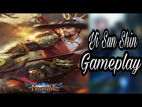 Yi SUN SHIN GAMEPLAY - MOBILE LEGENDS