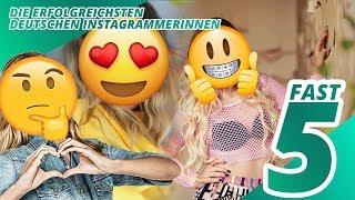 Top 5 erfolgreichsten Instagrammerinnen in Deutschland | Fast 5