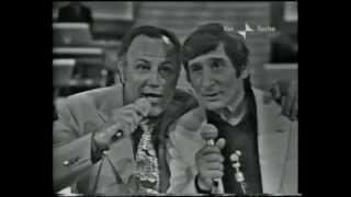 Renato Rascel e Claudio Villa senza rete 1972