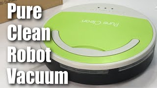 Pure Clean Automatic Smart Robotic Vacuum Cleaner Review