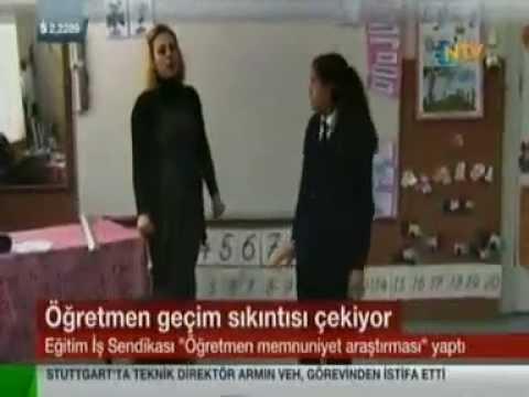 """Eğitim İş """"Öğretmenlerin gelirlerine ilişkin öğretmen görüşleri""""Anketi-NTV Haber Bülteni"""