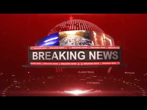 After Effects project - Breaking News Intro