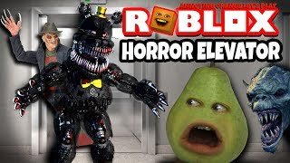 Pear Plays - Roblox: HORROR ELEVATOR! 😱