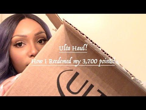 Ulta Haul | How I Redeemed My Ulta Rewards Points! thumbnail