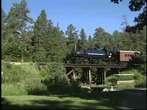Hill City, SD - State of South Dakota Railroad Museum