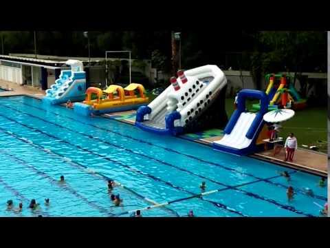 Renta De Juegos Inflables Acuaticos