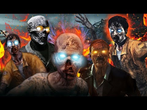 Why Is There A Unlimited Number of Zombies! Call of Duty Zombies Storyline & Easter Eggs thumbnail
