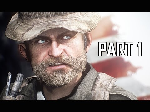 Call of Duty 4 Modern Warfare Remastered Walkthrough Part 1 - Crew Expendable (COD4 Campaign)