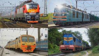 Учим поезда для детей  Виды поездов для маленьких