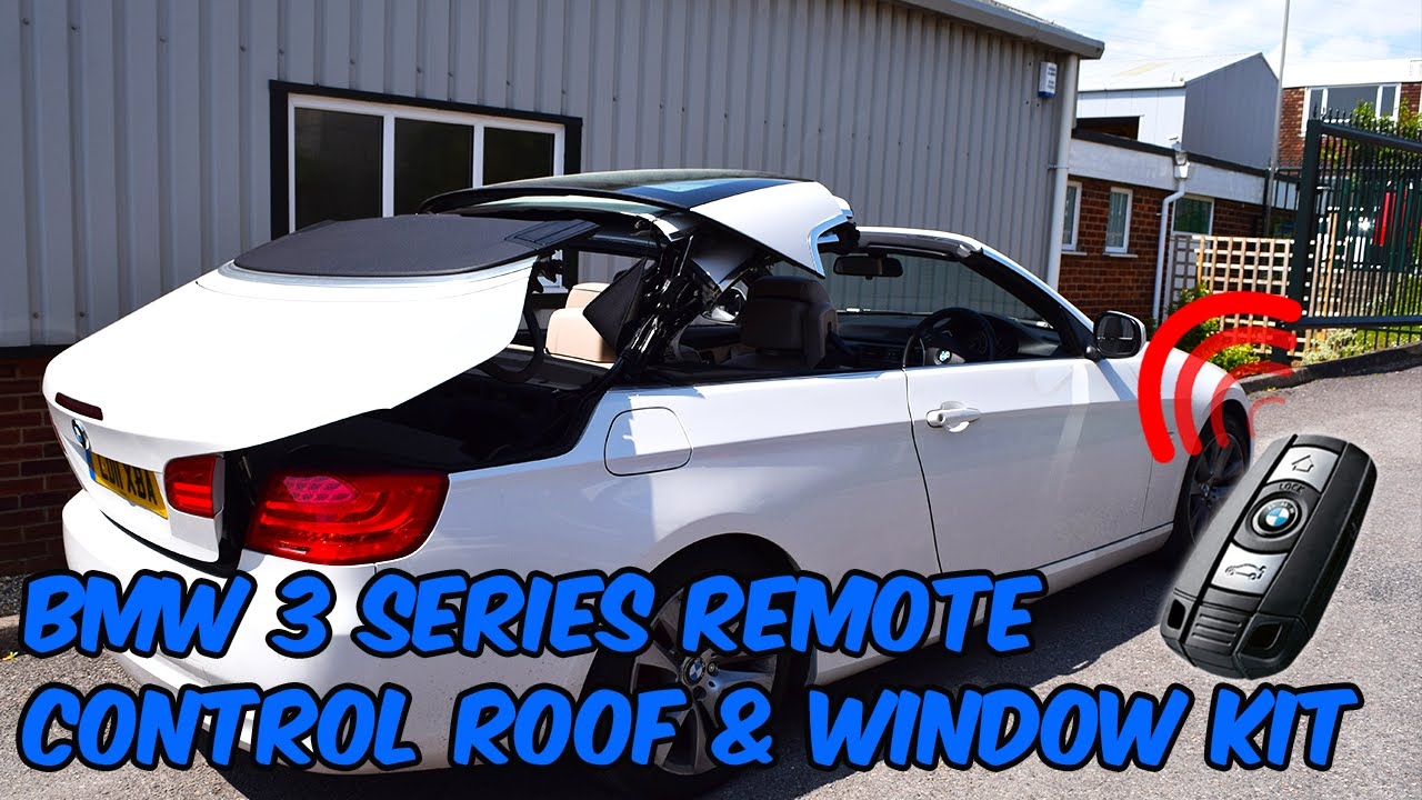 BMW 3 Series E93 Convertible Remote Roof Open   Close Kit