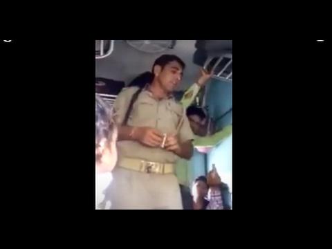 ट्रेन में घुस video live
