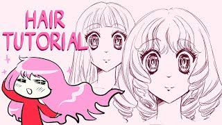 Give Your Characters FABULOUS Hair! *:・゚✧ How To Draw Hair For Female Characters 3 Ways