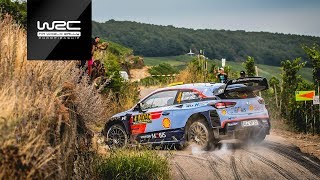 WRC - ADAC Rallye Deutschland 2018: HIGHLIGHTS Stages 5-7