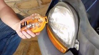 Comment changer les ampoules avant sur Twingo 1