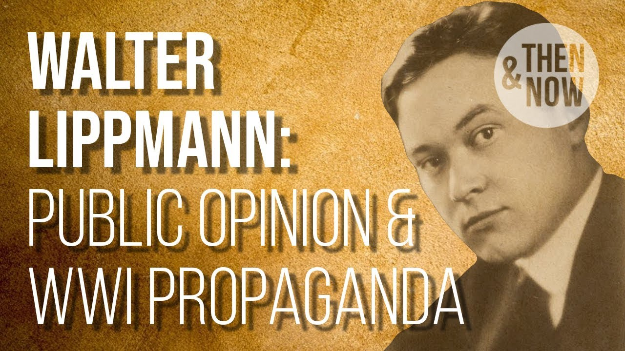 Image result for Walter Lippmann