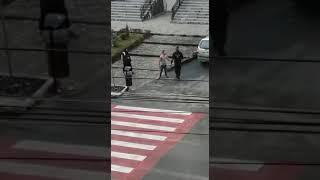 Agent de pază batut la Jibou