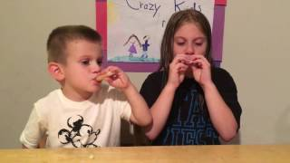 Cry Baby Sour Mini Drinks - Candy Review and Challenge by CKR