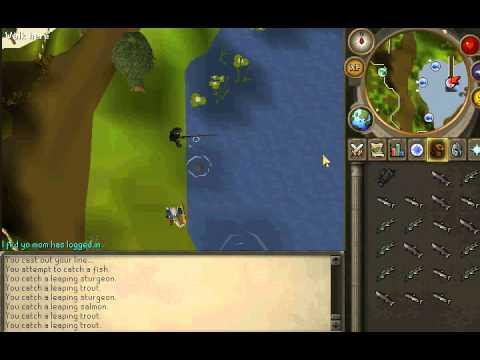 Fastest Fishing Xp In RuneScape? (Member's)