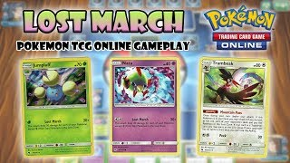Lost March - Pokemon TCG Online Gameplay