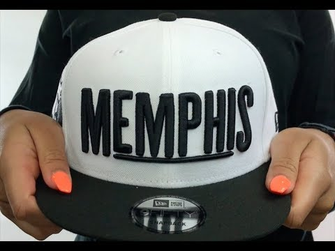 free shipping 63ddc 6fdc8 Grizzlies  CITY-SERIES SNAPBACK  White-Black Hat by New Era