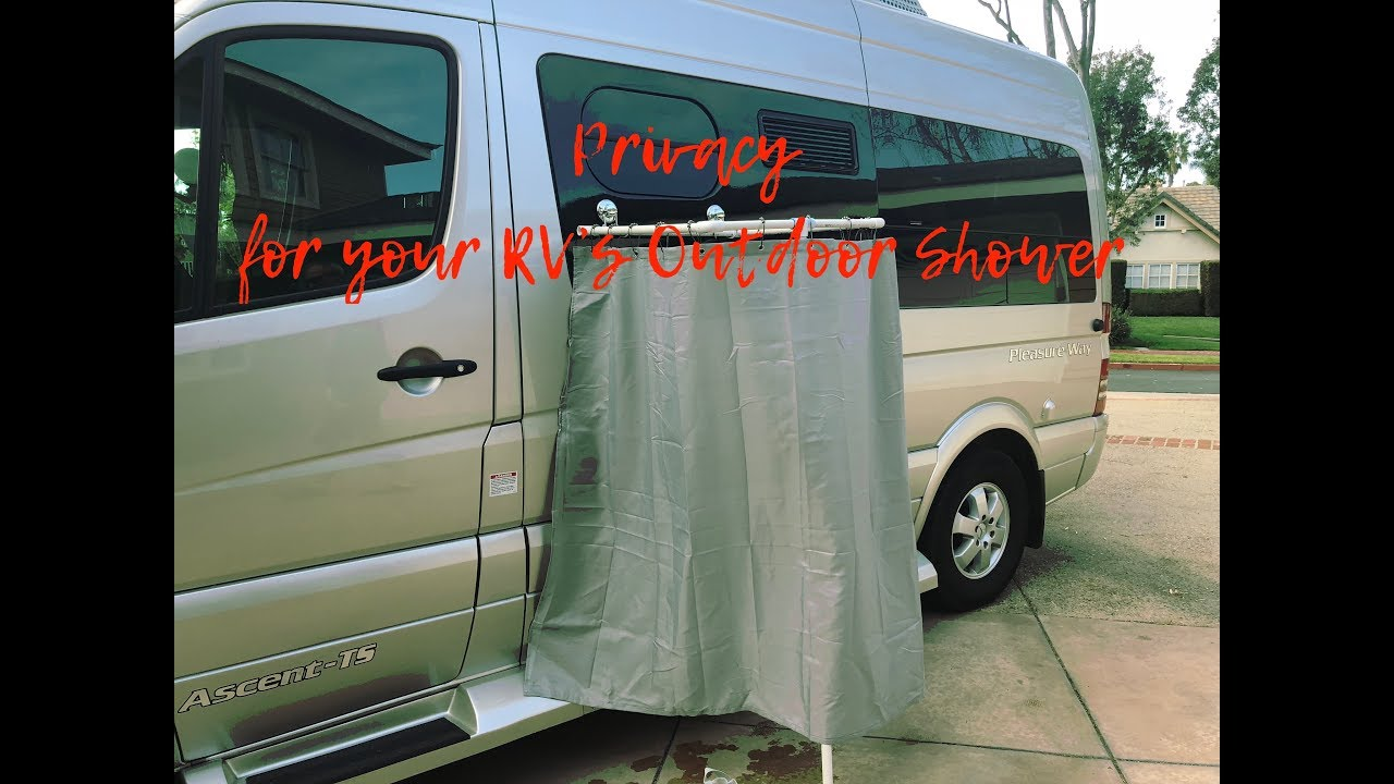 Privacy For Your RV Outdoor Shower