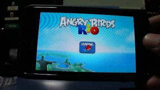 Angry Birds Rio Android Samsung Galaxy S - Game