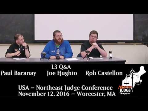 Northeast USA Fall Conference - L3 Q&A Panel