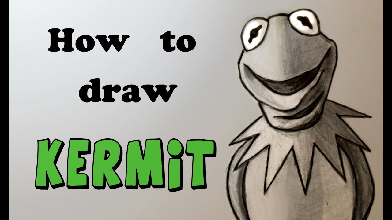 ep 144 how to draw kermit the frog lesson on value shading