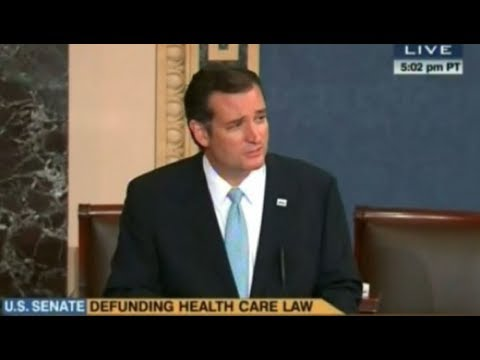 Ted Cruz Stands For 21 Hours In Obamacare Filibuster | The Rubin Report