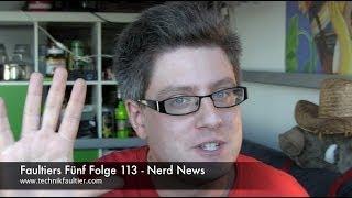 Faultiers Fünf Folge 113 - Nerd News