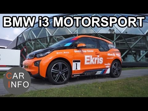 BMW i3 Motorsport: Electric GT4 car!