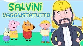 Salvini l'aggiustatutto