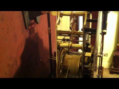 Regulator Longcase Clock Escapement