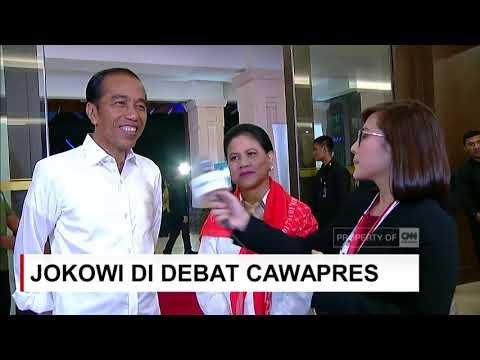Tidak Ada Pesan Khusus Presiden Jokowi Untuk Ma'ruf Amin Di Debat Cawapres