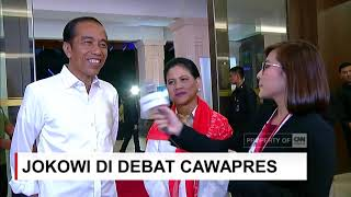 Download Video Tidak Ada Pesan Khusus Presiden Jokowi untuk Ma'ruf Amin di Debat Cawapres MP3 3GP MP4