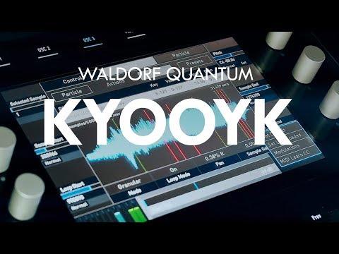 Waldorf Quantum demo live no talking #01