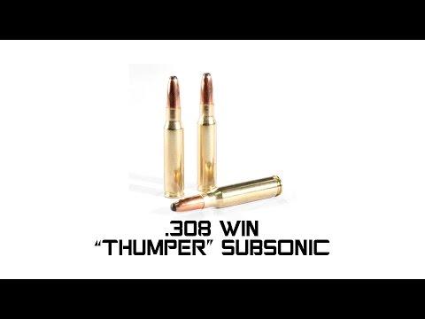 Subsonic Ammunition - Engel Ballistic Research