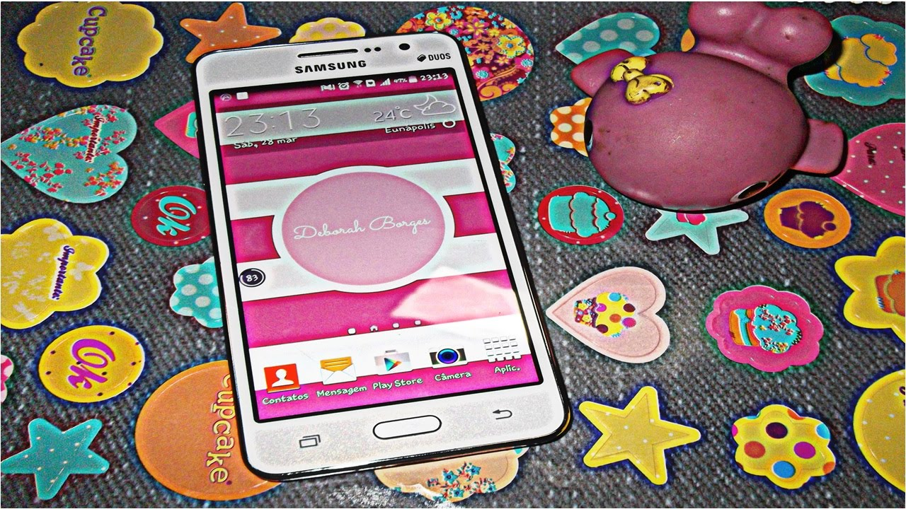 Preferência Meu Galaxy Gran Prime e apps. - YouTube DY65