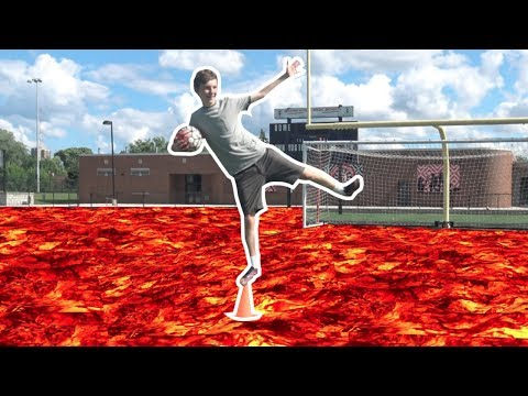 The Floor is Lava Challenge Trick Shots! | Thats Amazing