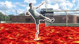 The Floor is Lava Challenge Trick Shots! | That's Amazing